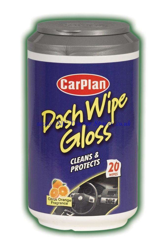 CarPlan Mini Tubs Wipes Dash Wipe Gloss 20